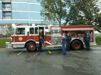 Fire Truck Exhibit