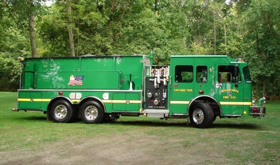 Irishtown's pumper/tanker