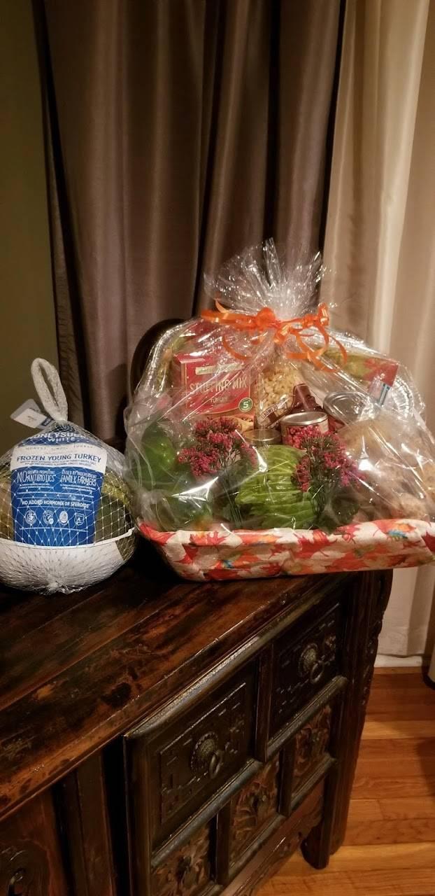 Turkey and basket!