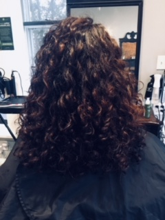 Dry Curly Cut!