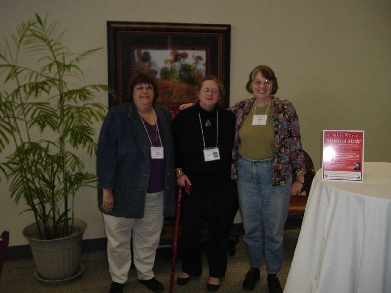 Me, T. Lee Harris, and Marian Allen
