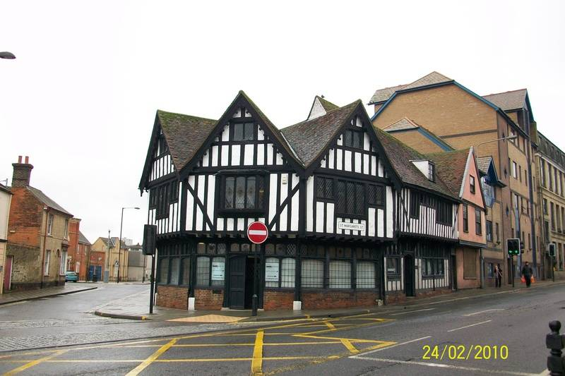 Corner of St. Margaret's & Great Colman Street