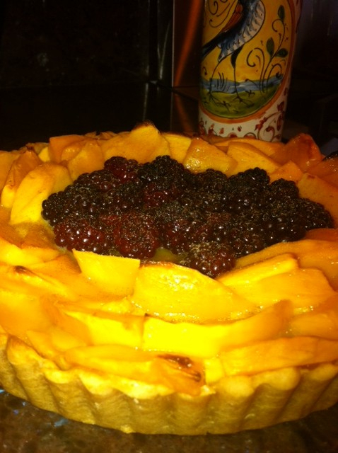 Fruit Tart with Cream Cheese Pastry Crust