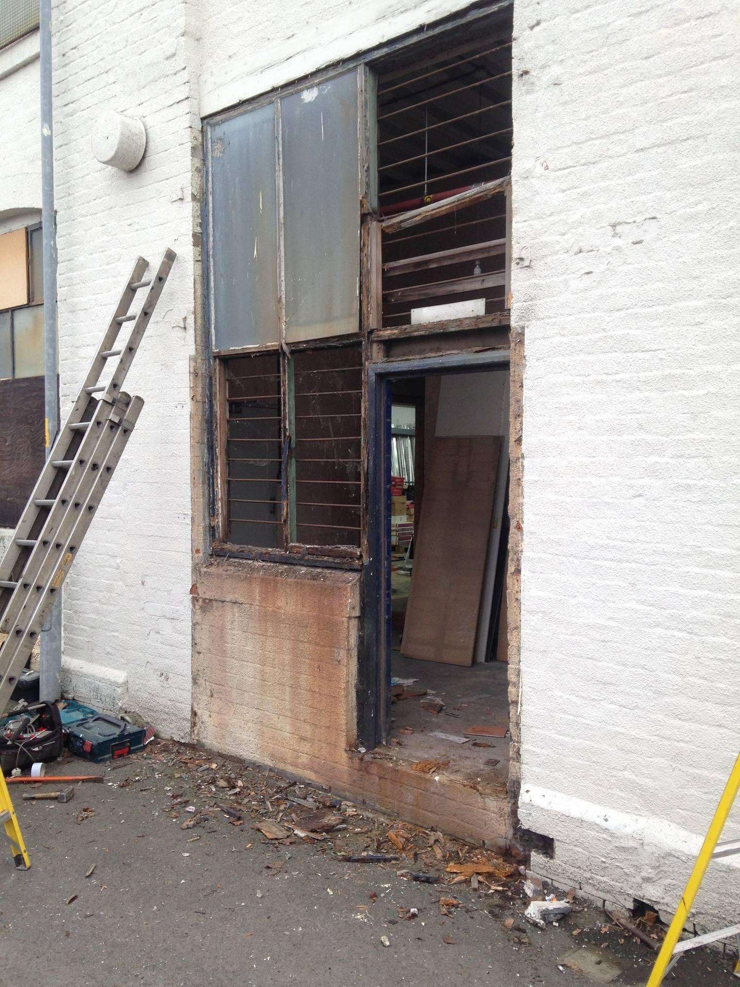 Site 2. Old doorway.