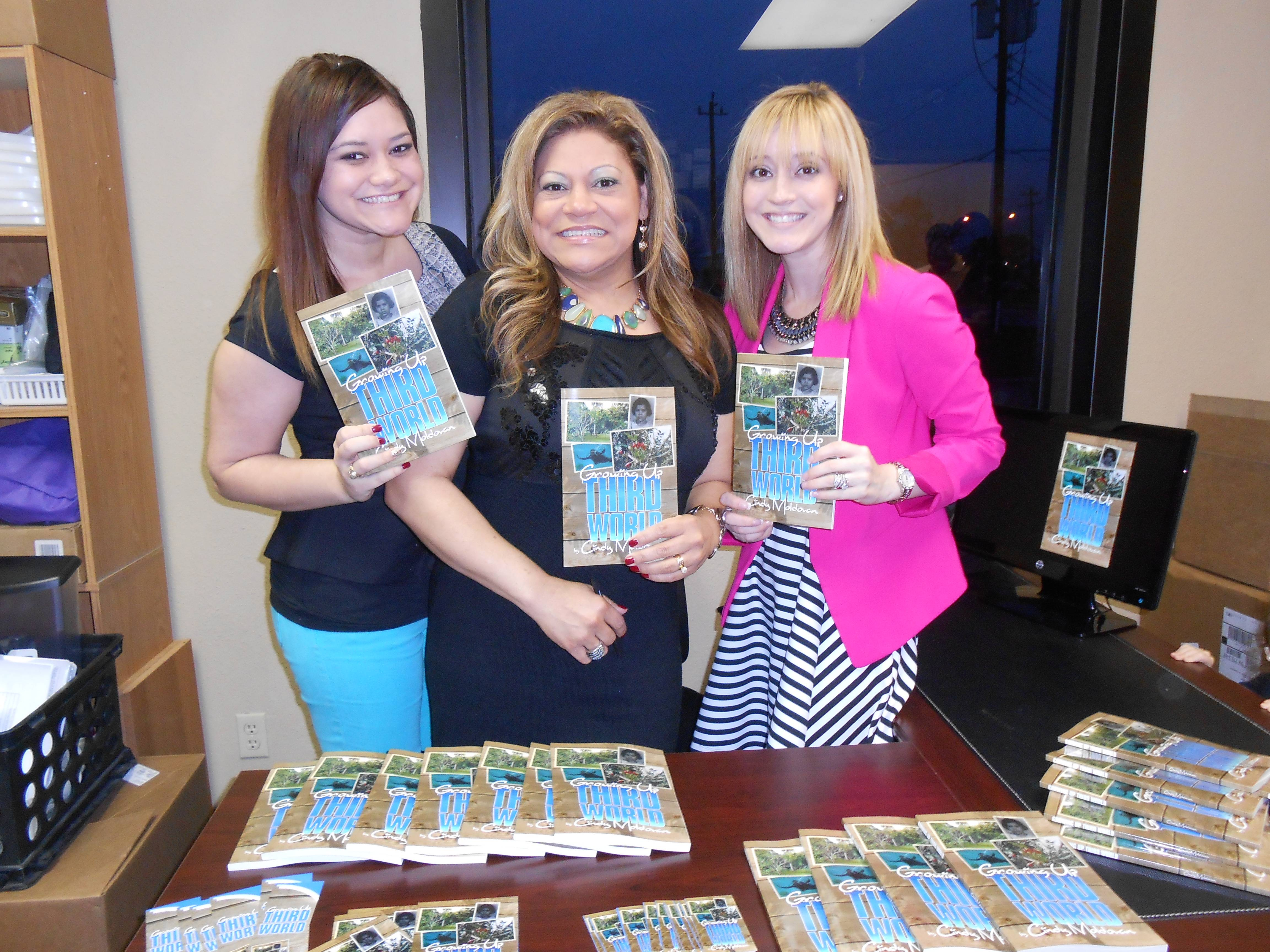 Growing Up Third World, book signing