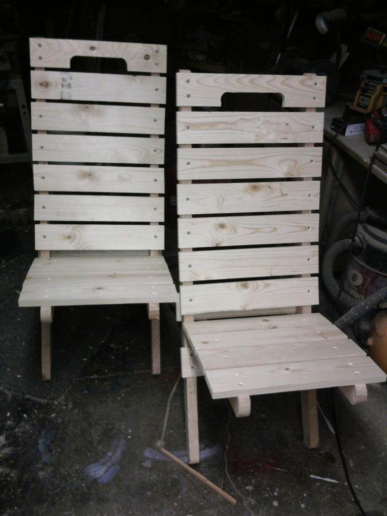 Tall 2pc chair
