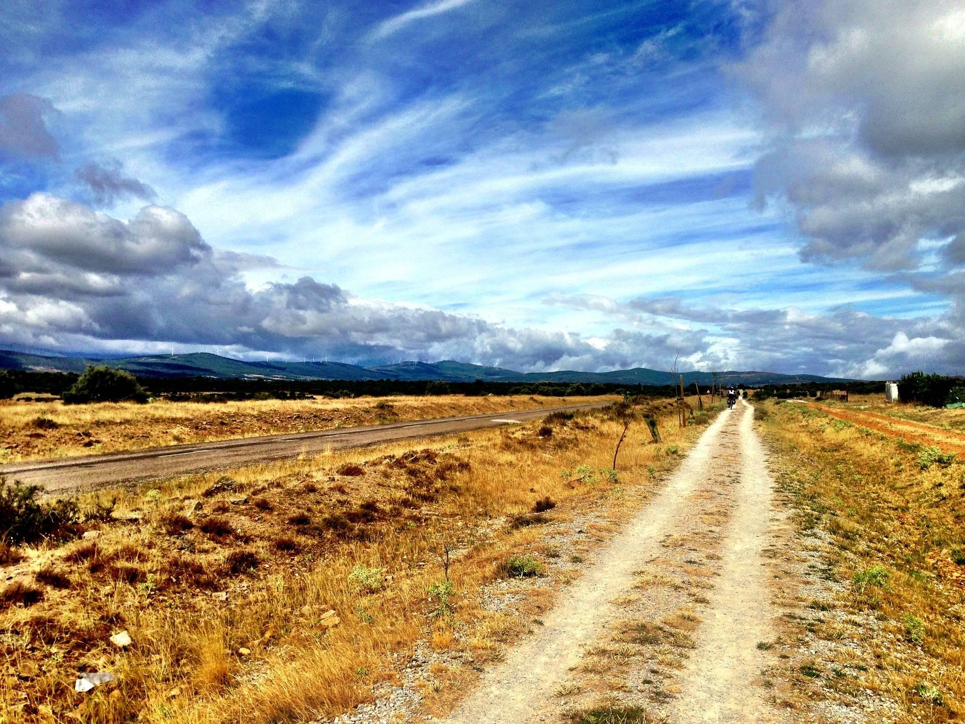 On the Meseta along a Roman Road