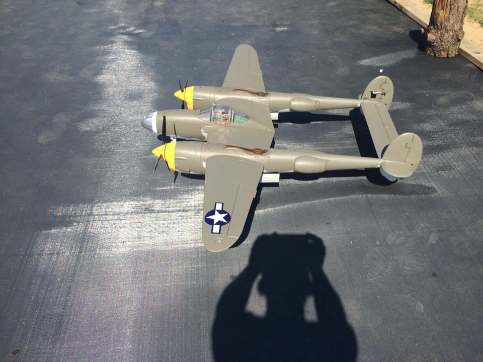 Brent's Green P-38