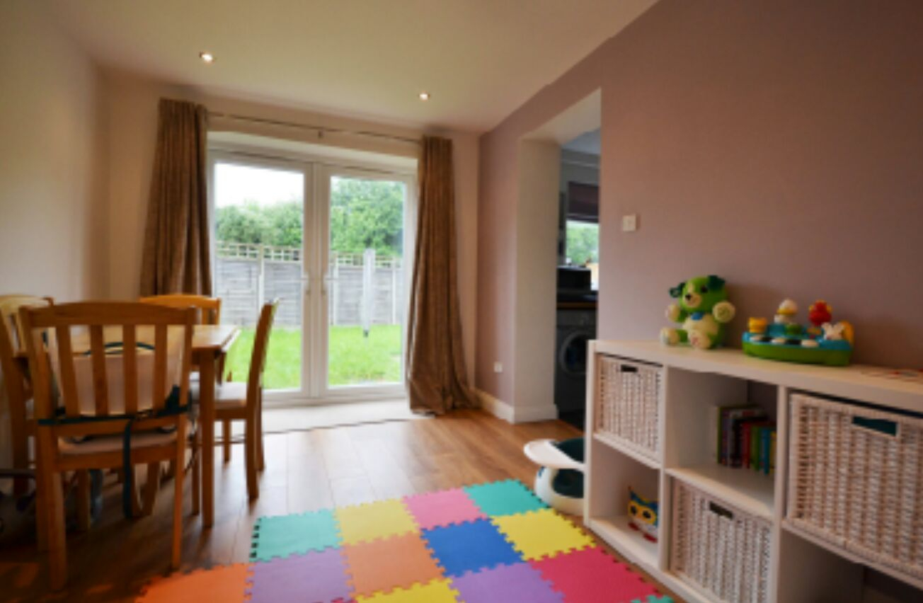 Finished Dining Room/Play Room
