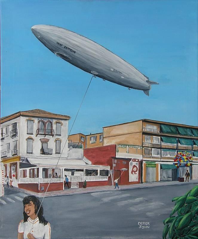Zeppelin Over La Zubia