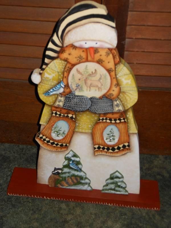 Adirondack Snowman