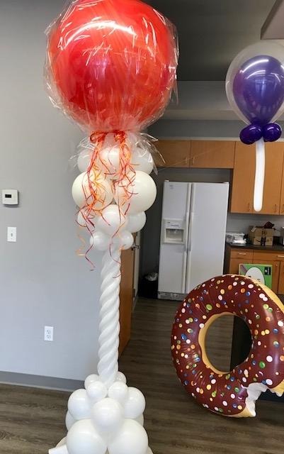 Balloon Lollipop Column
