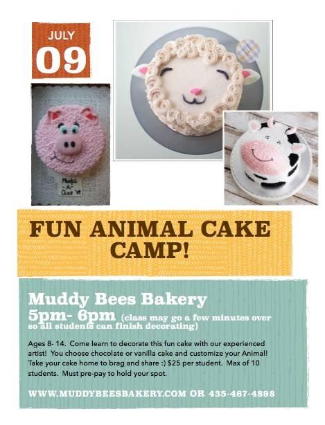 July 9 Cake Class