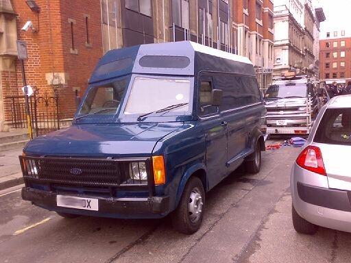 1980s Armoured security van