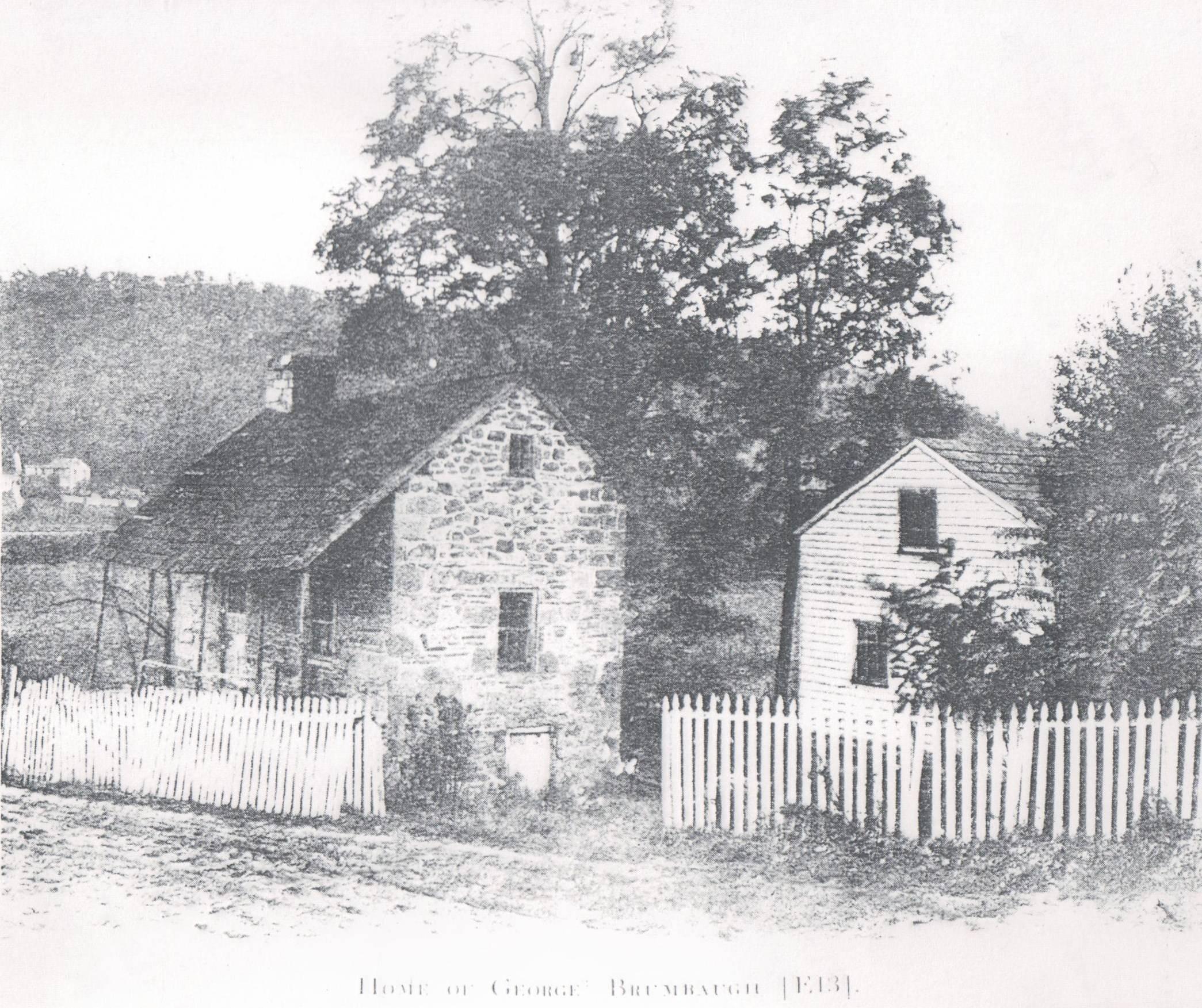 Original Brumbaugh House