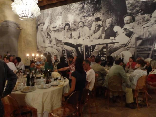 An evening at Chateau Viella