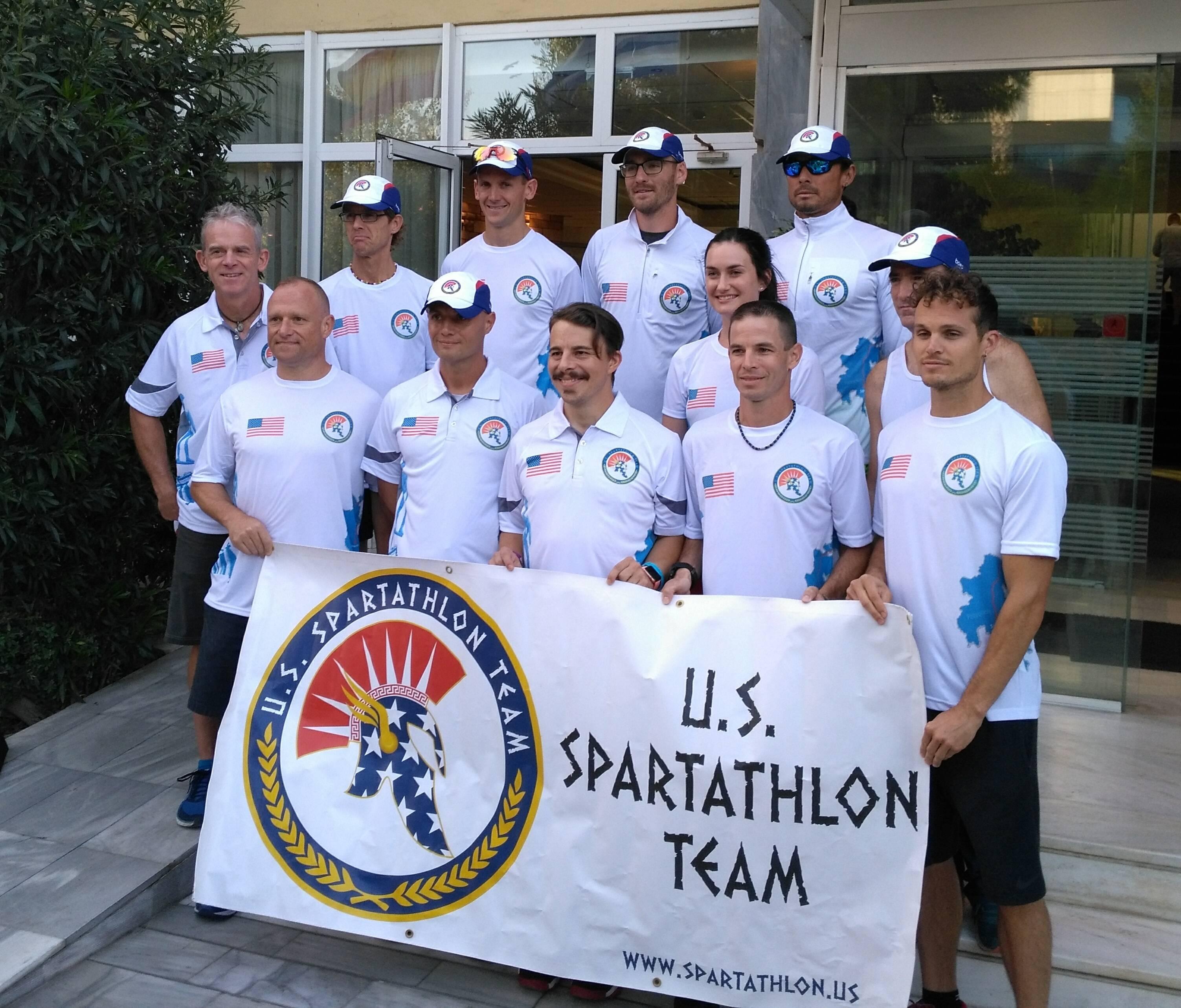 U.S. Spartathlon Team 2017 (Glyfada, Greece)
