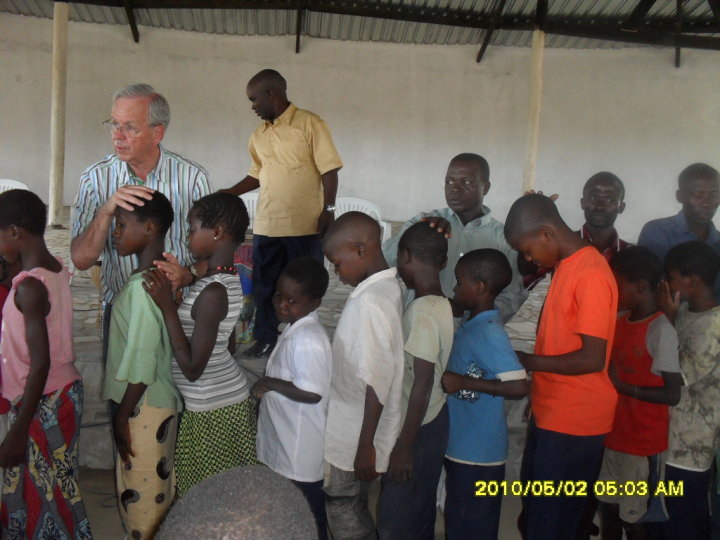 Children love to be ministered to