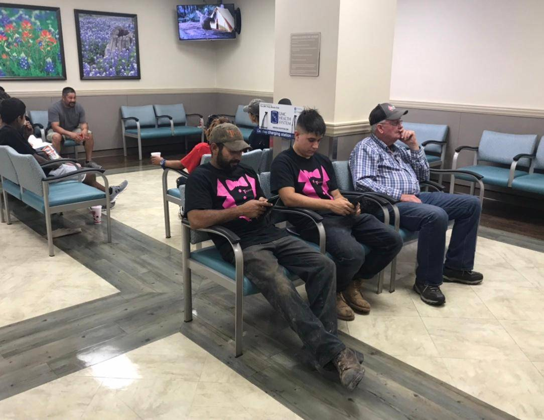 UMC ICU waiting room 2