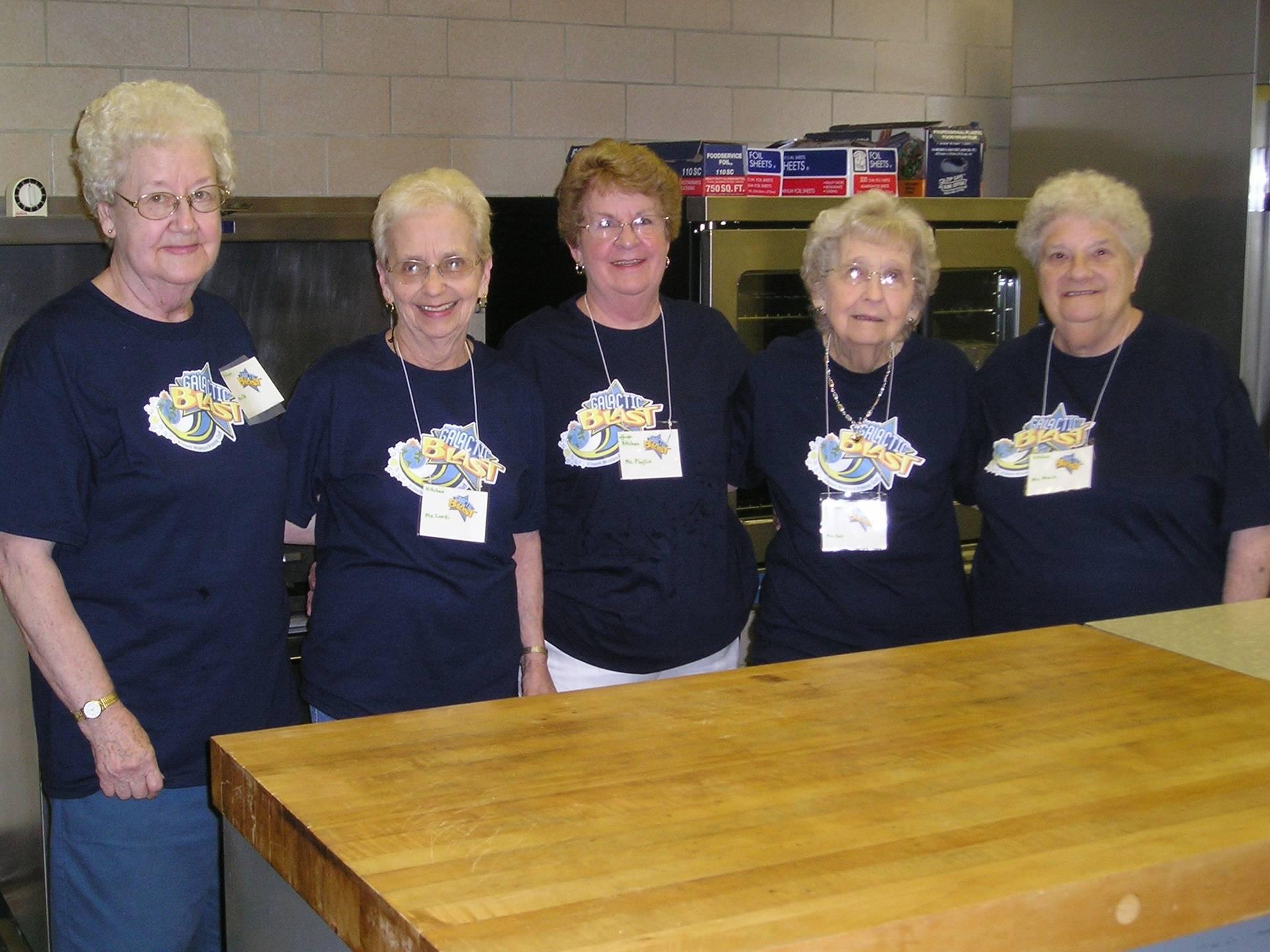 2010 VBS Kitchen Staff