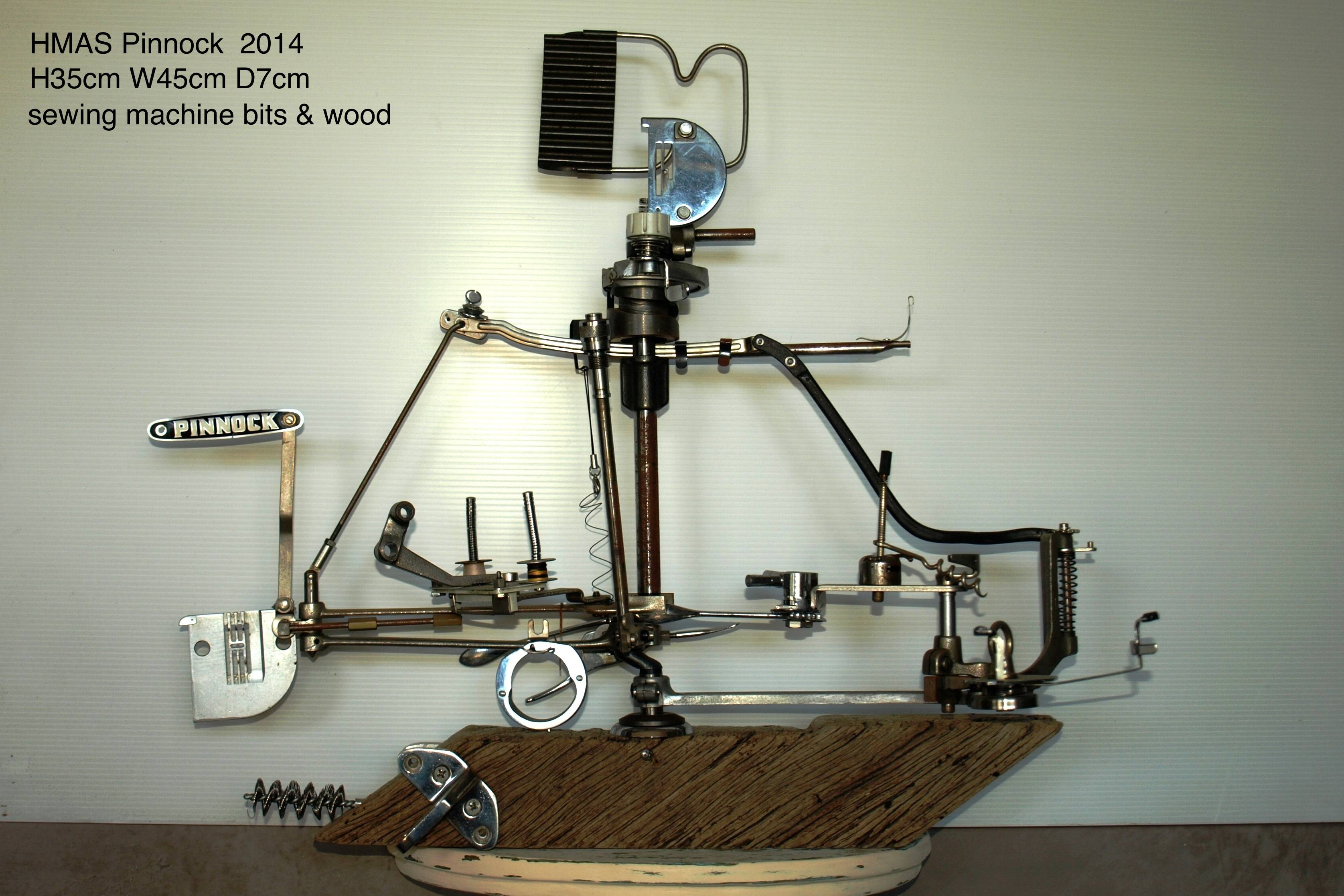 HMAS PINNOCK  sewing machine bits
