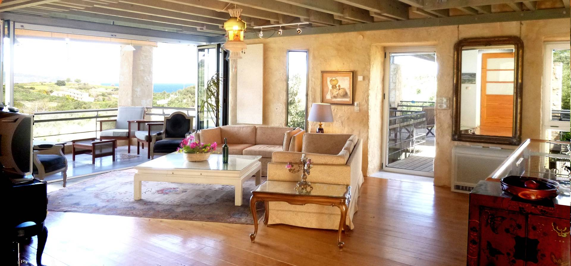 Main floor: living room