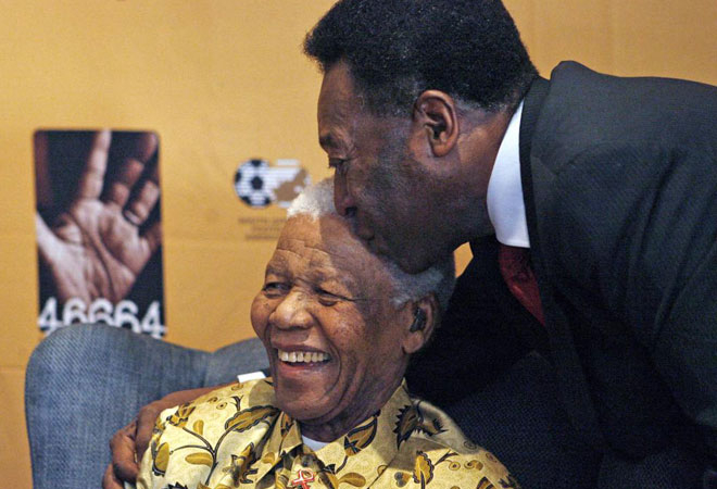 Mandela and Pele