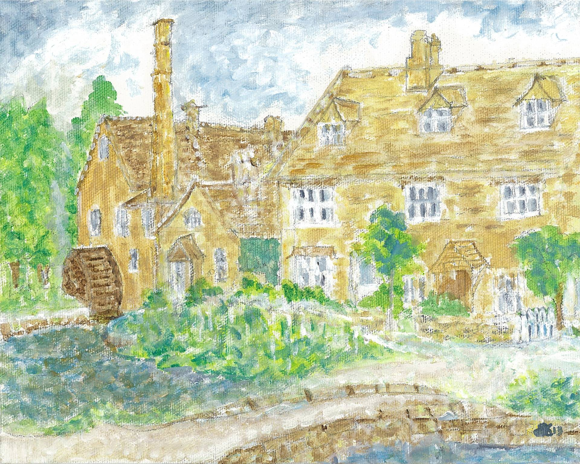 Lower Slaughter Mill - The Cotswolds, England
