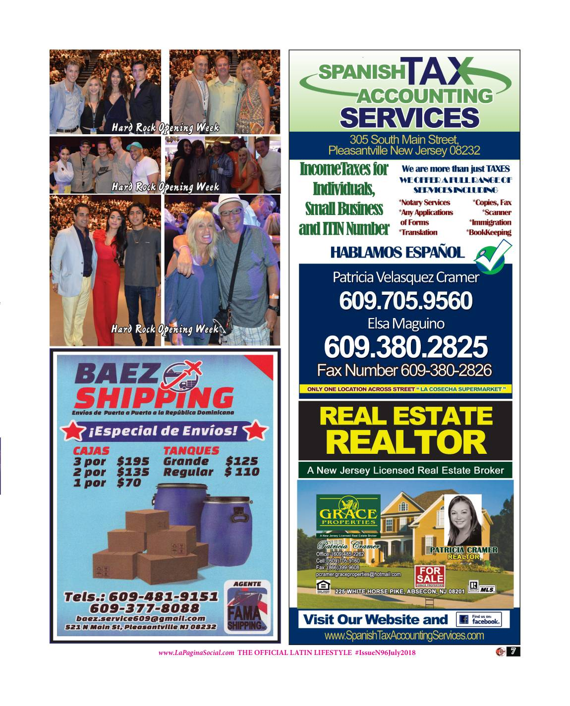 8 The Society Page en Espanol Issue N96 July 2018