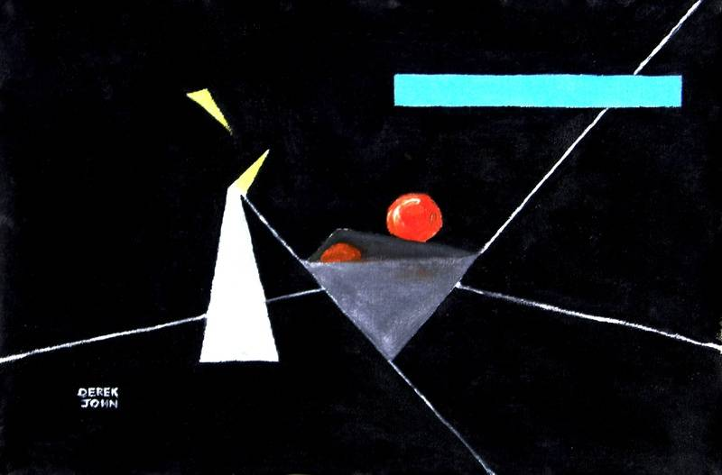 Still Life With Candle (after Kandinsky)