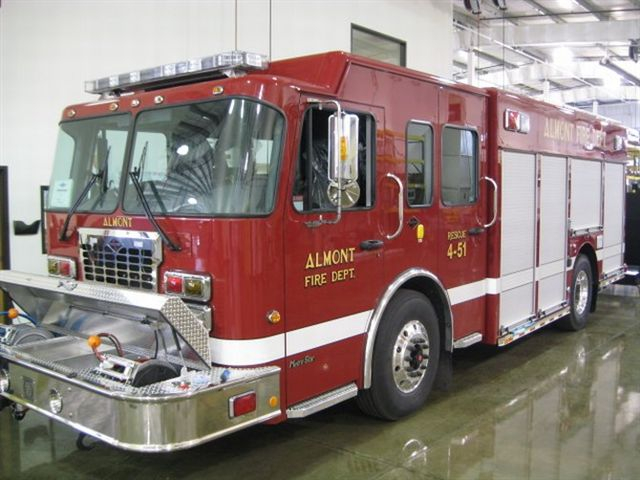 New Rescue Truck 4-51