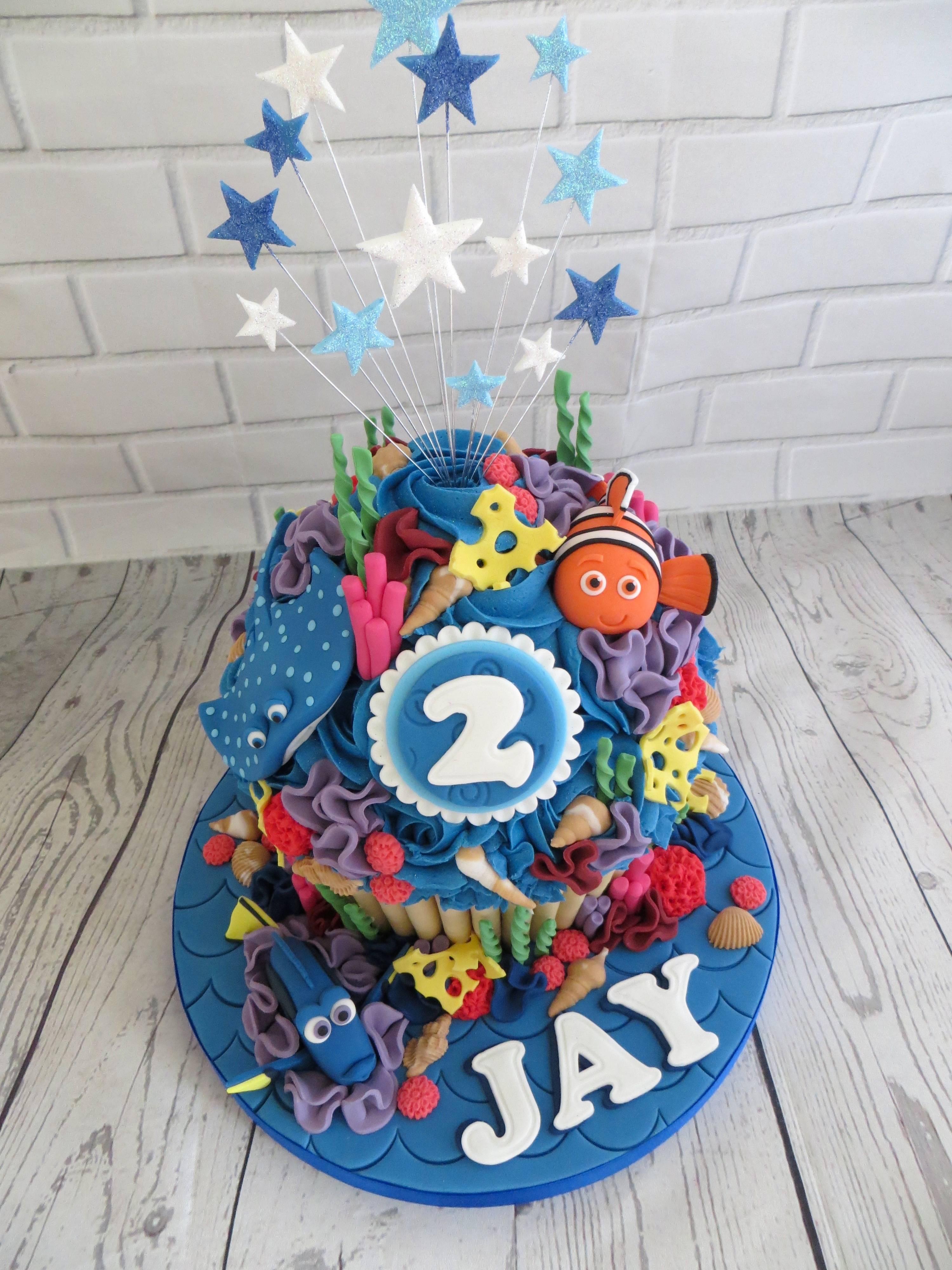 Nemo Giant Cupcake