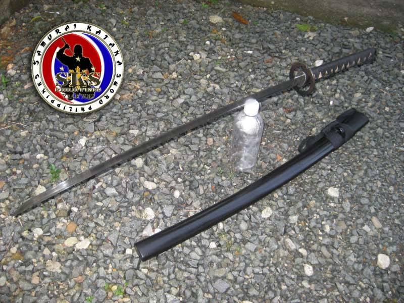 Well-balanced 5160 Spring Steel Katana Sword