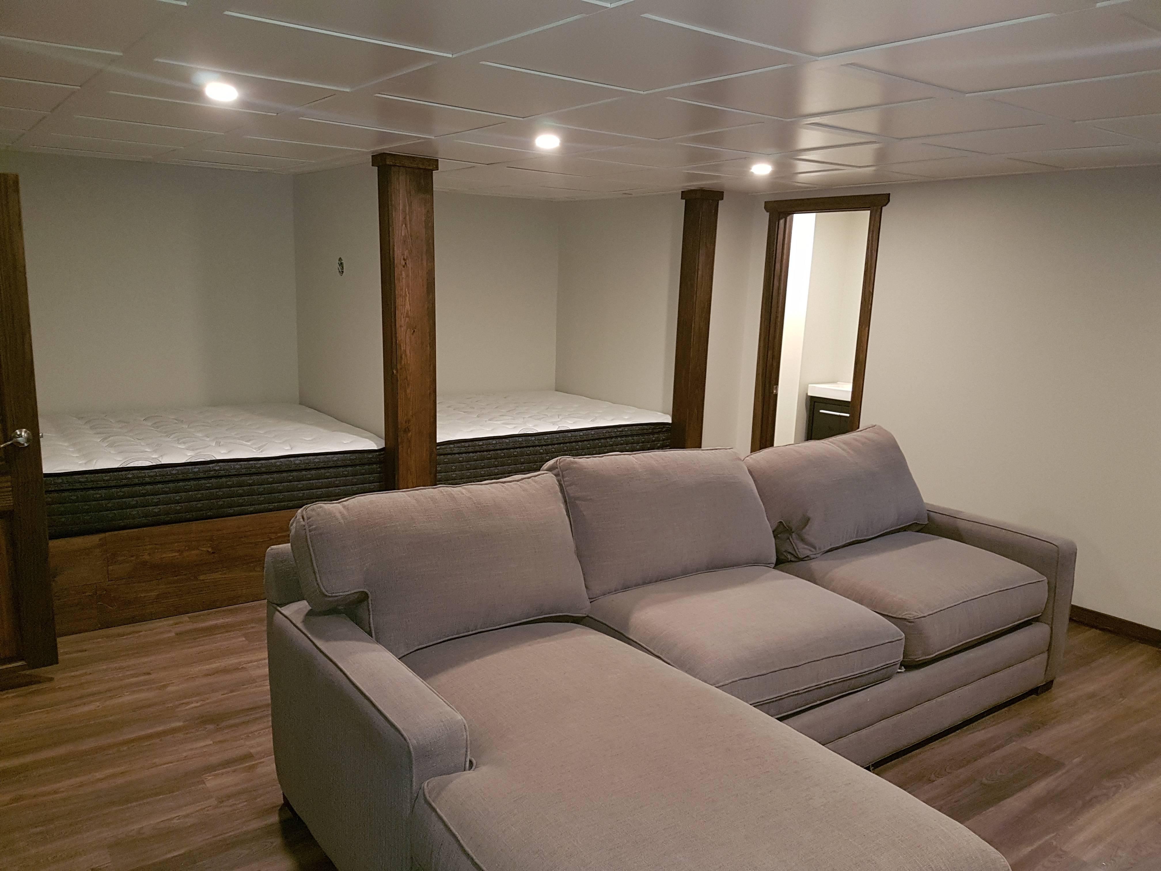 Custom bed areas