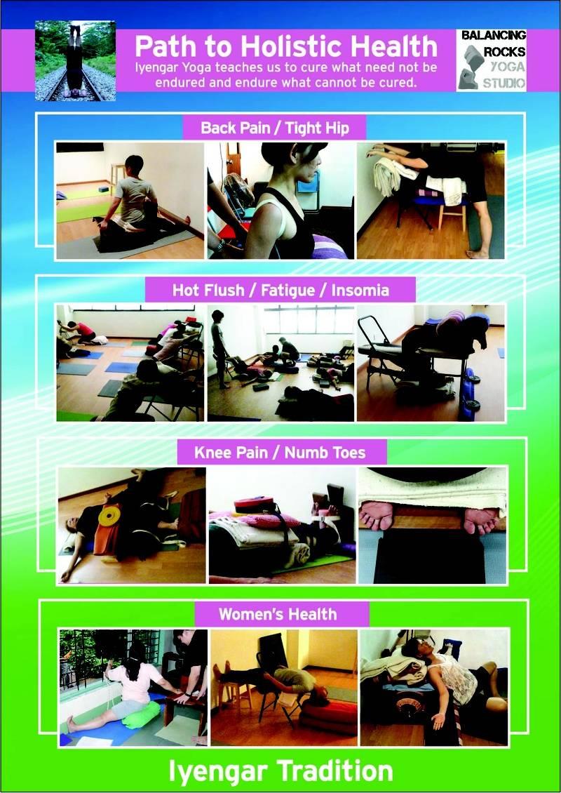 Poster for Balancing Rocks Yoga Studio