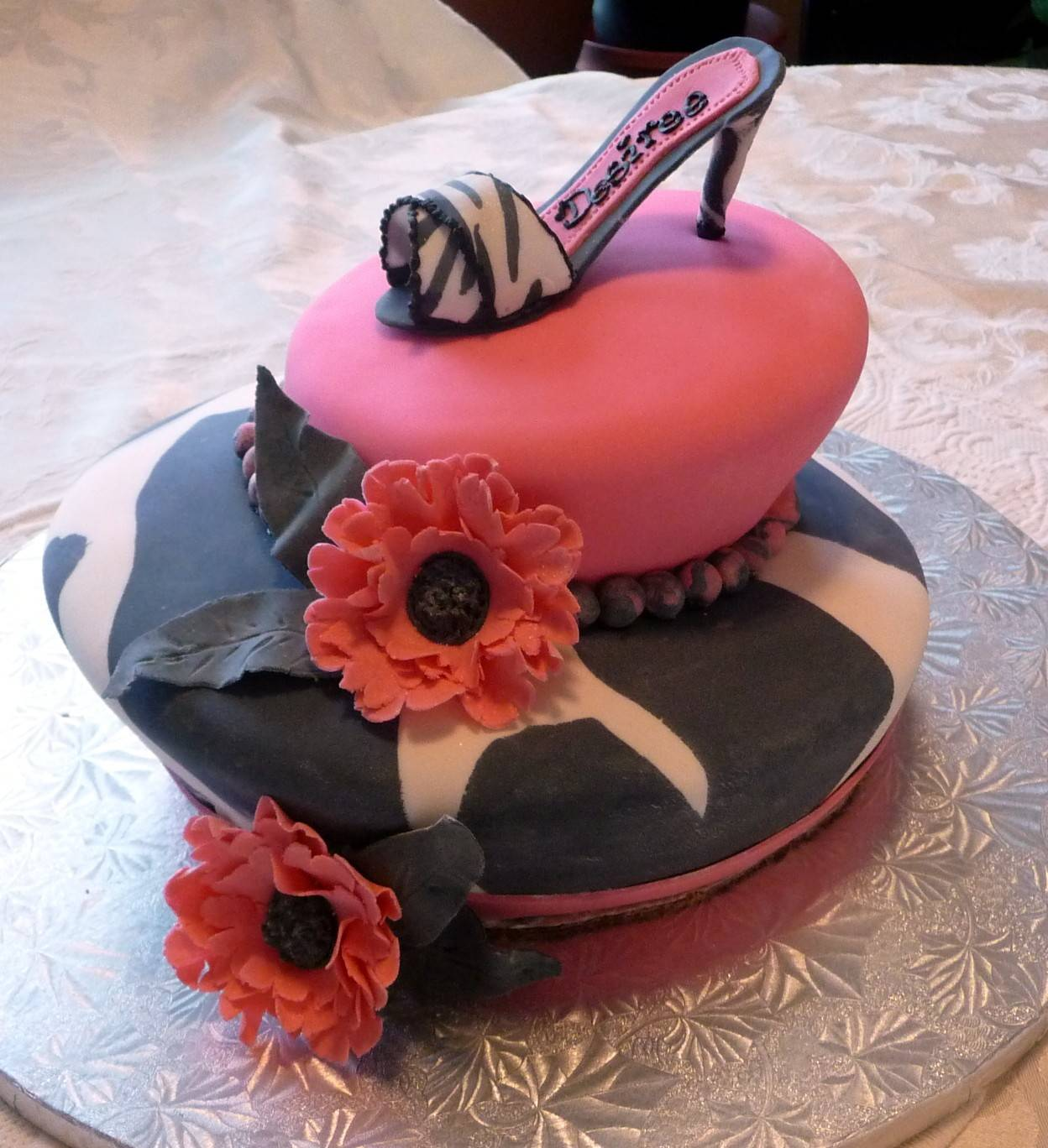 Desiree's Shoe Cake