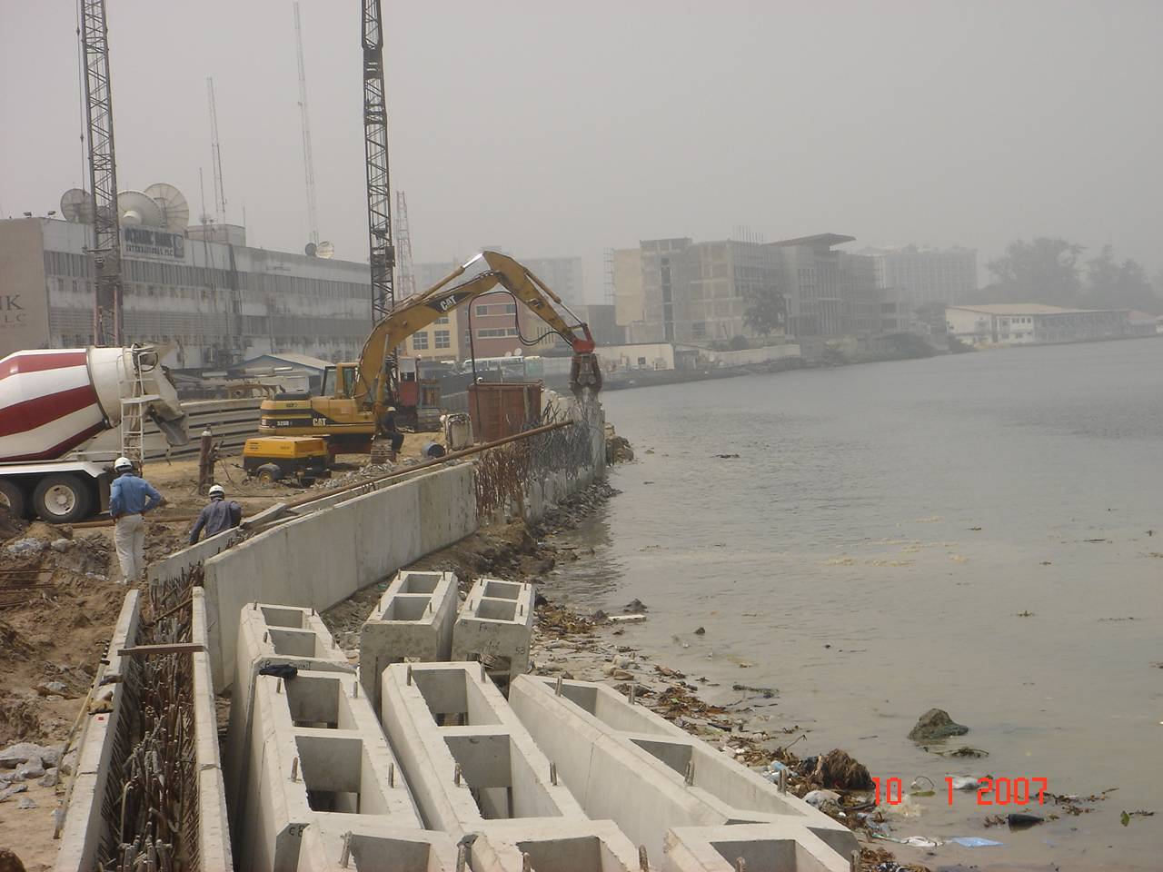 Shoring Line for Waves Project in Lagos - NIGERIA