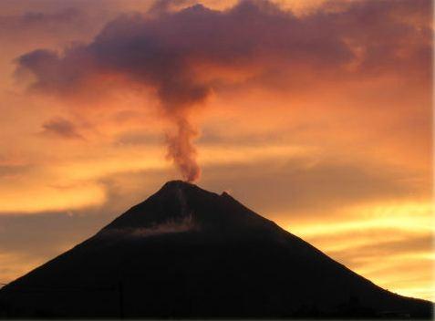 Arenal Sunset
