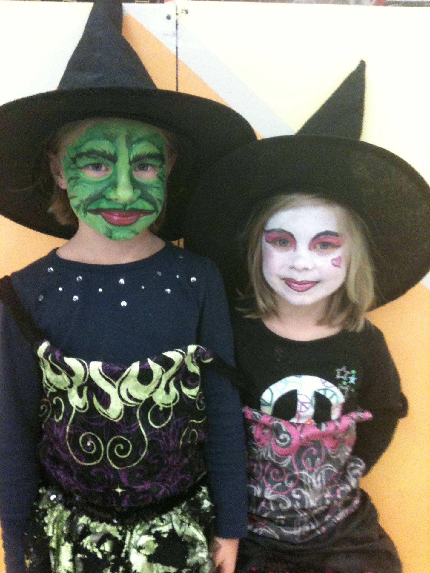 Scary Witch and Good Witch