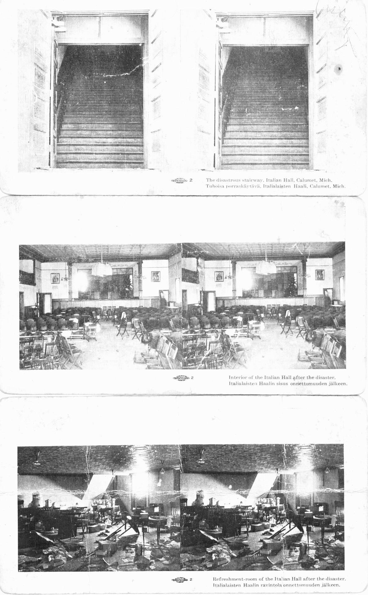 Italian Hall Death Doors.