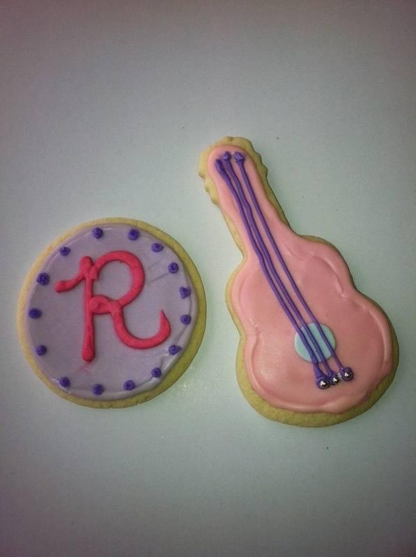 Detail Rock Star cookies
