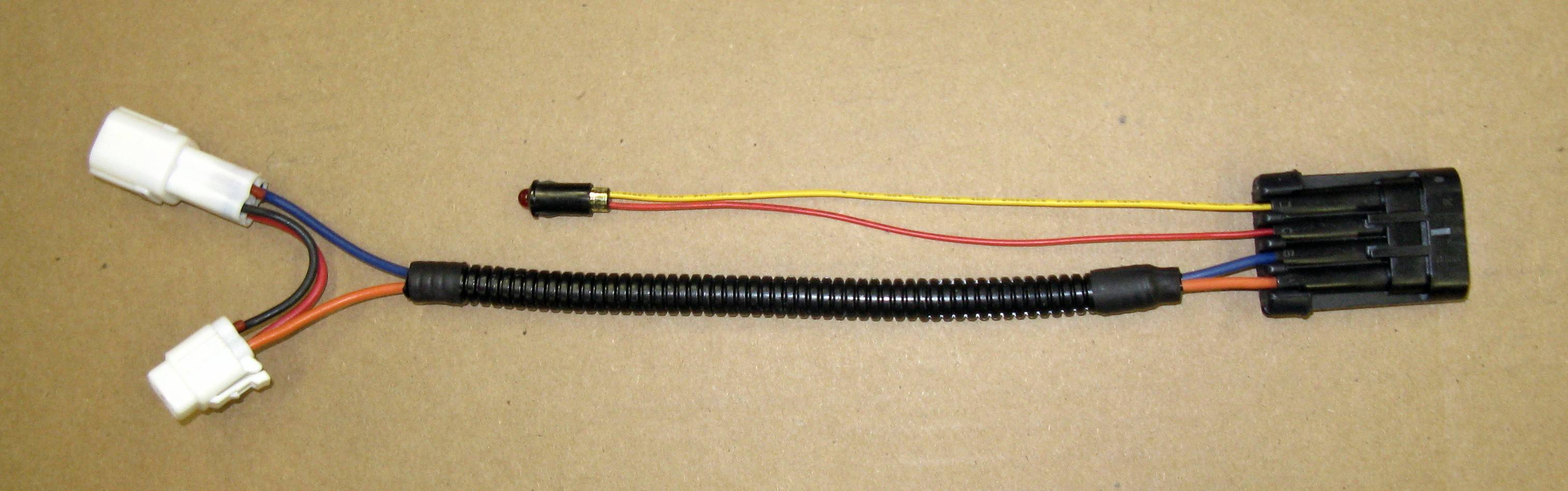 Assembled upper harness assembly