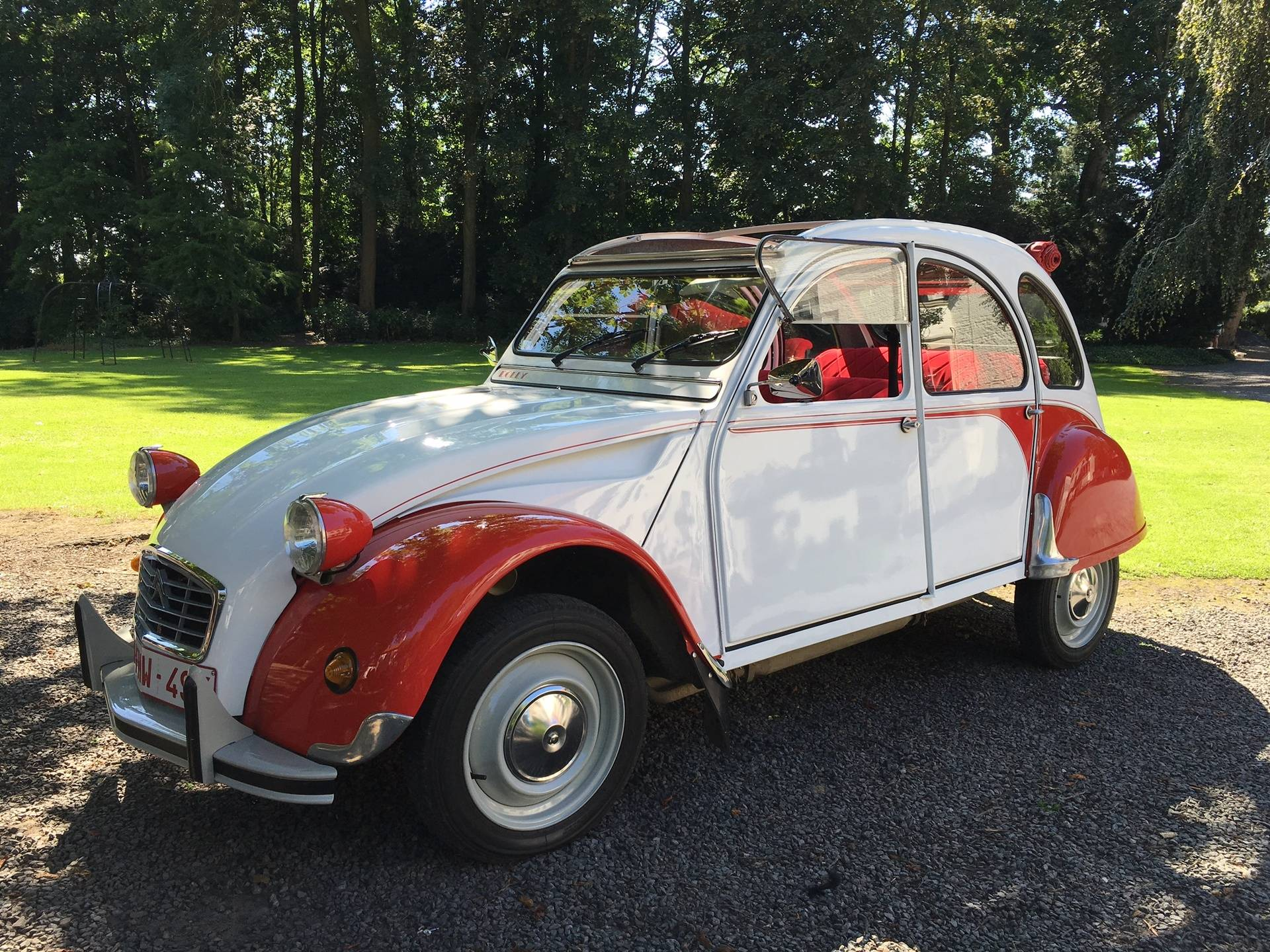 Verhuur Citroen 2cv, Dolly