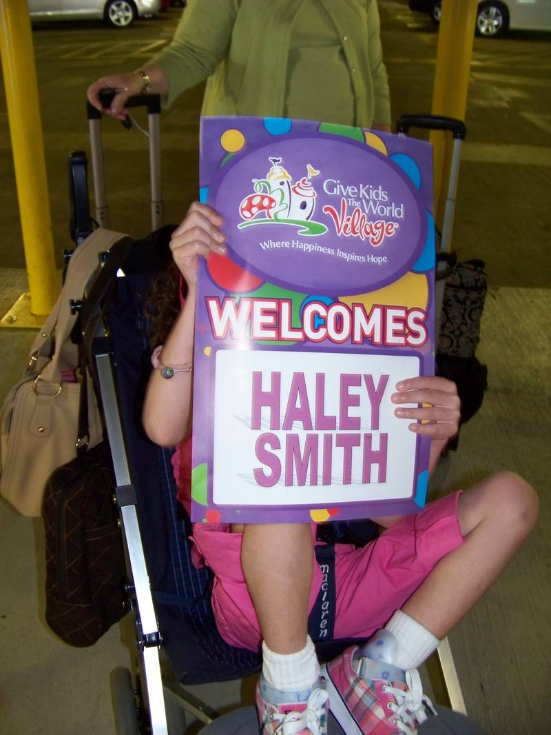 Give Kids the World Welcomes Haley Smith