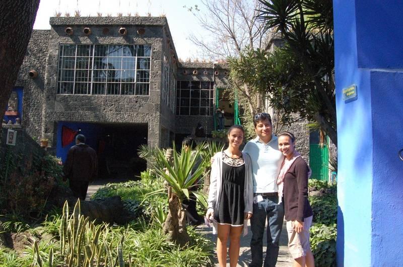 The Frida Kahlo museum.