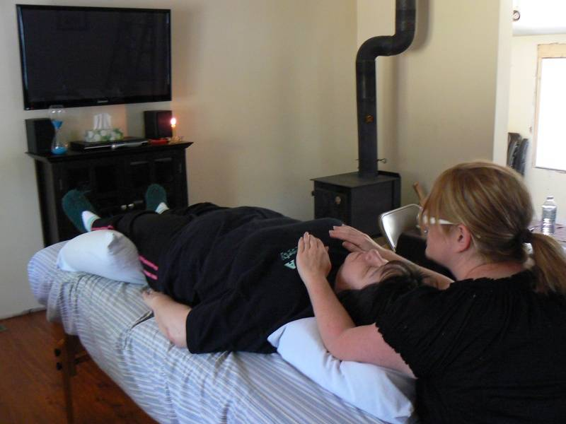 Reiki works on a physical and emotional level