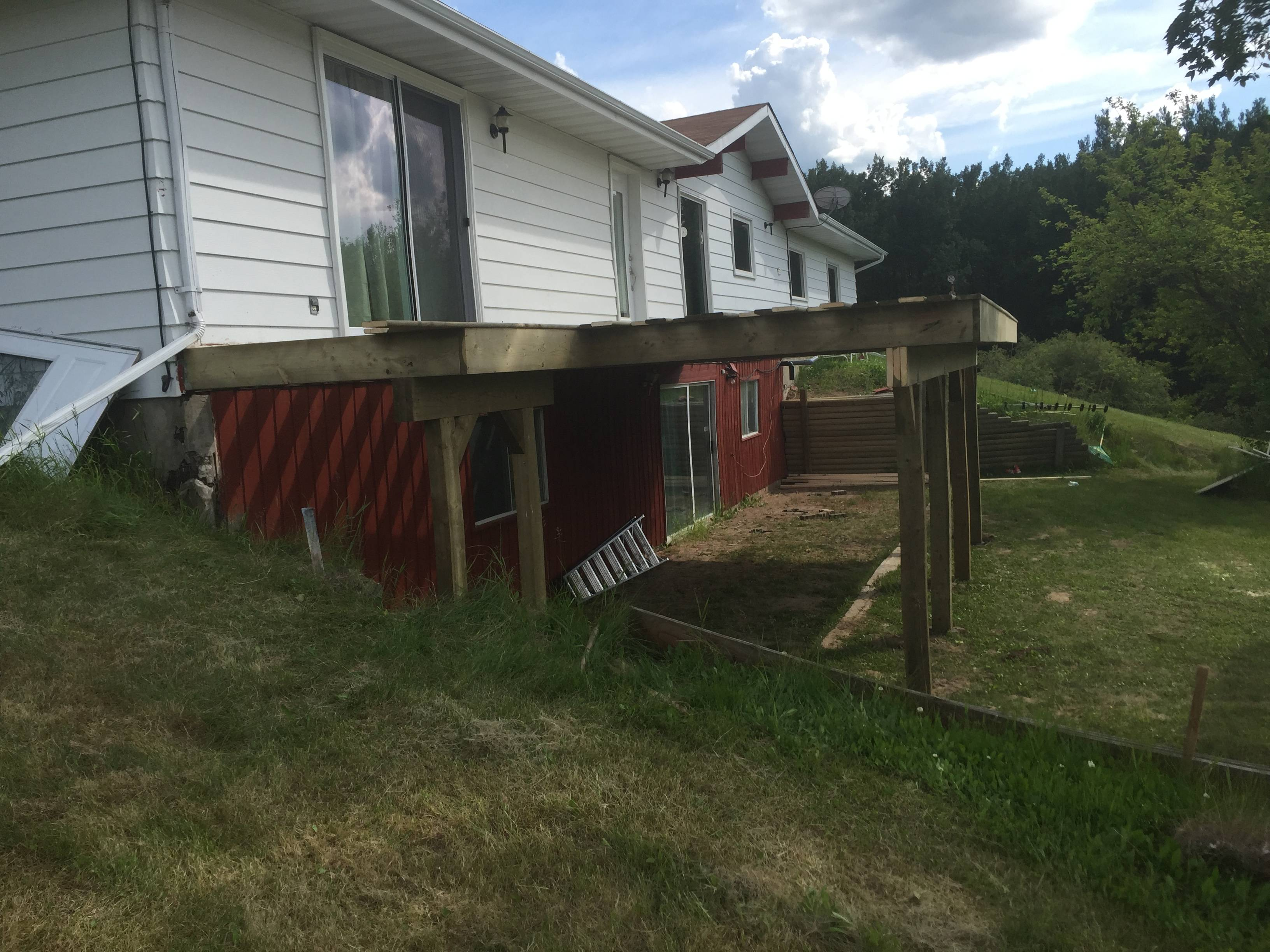 NEED A SPOT FOR STAIRS