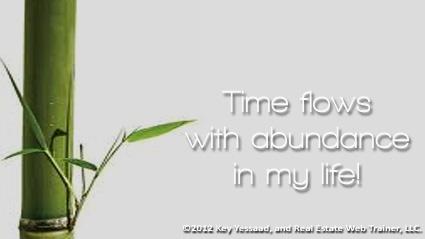 Time flows