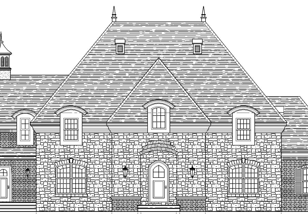 Original Drawing of South Elevation