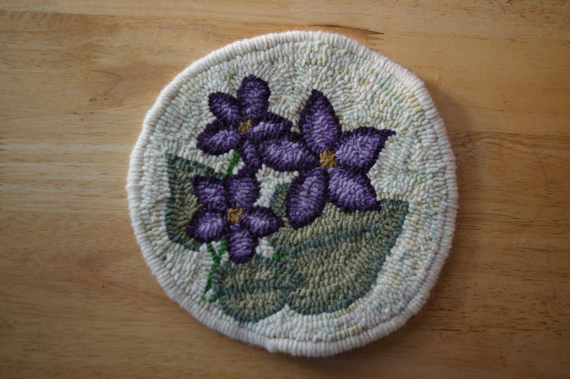 "9"" Purple Violet Trivet Kit"